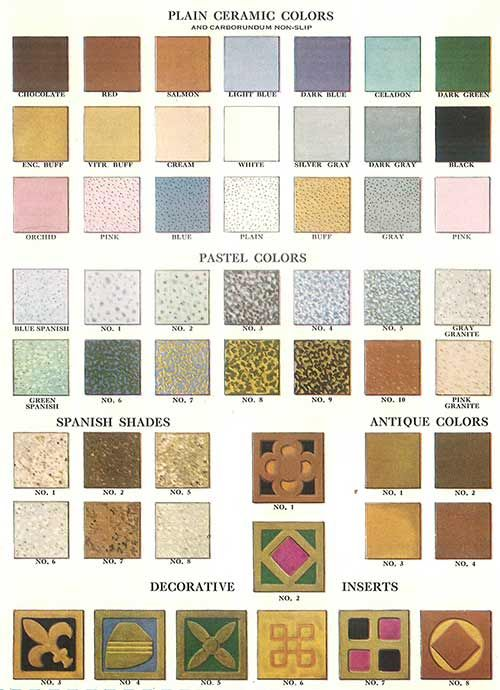 112 patterns of mosaic floor tile in amazing colors for Best color for floor tiles