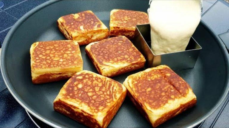 فطائر الحليب لفطور الصباح بدون عجن ولا دلك أو أي مجهود سهلة وسريعة Best Breakfast Recipes Recipes Yummy Breakfast