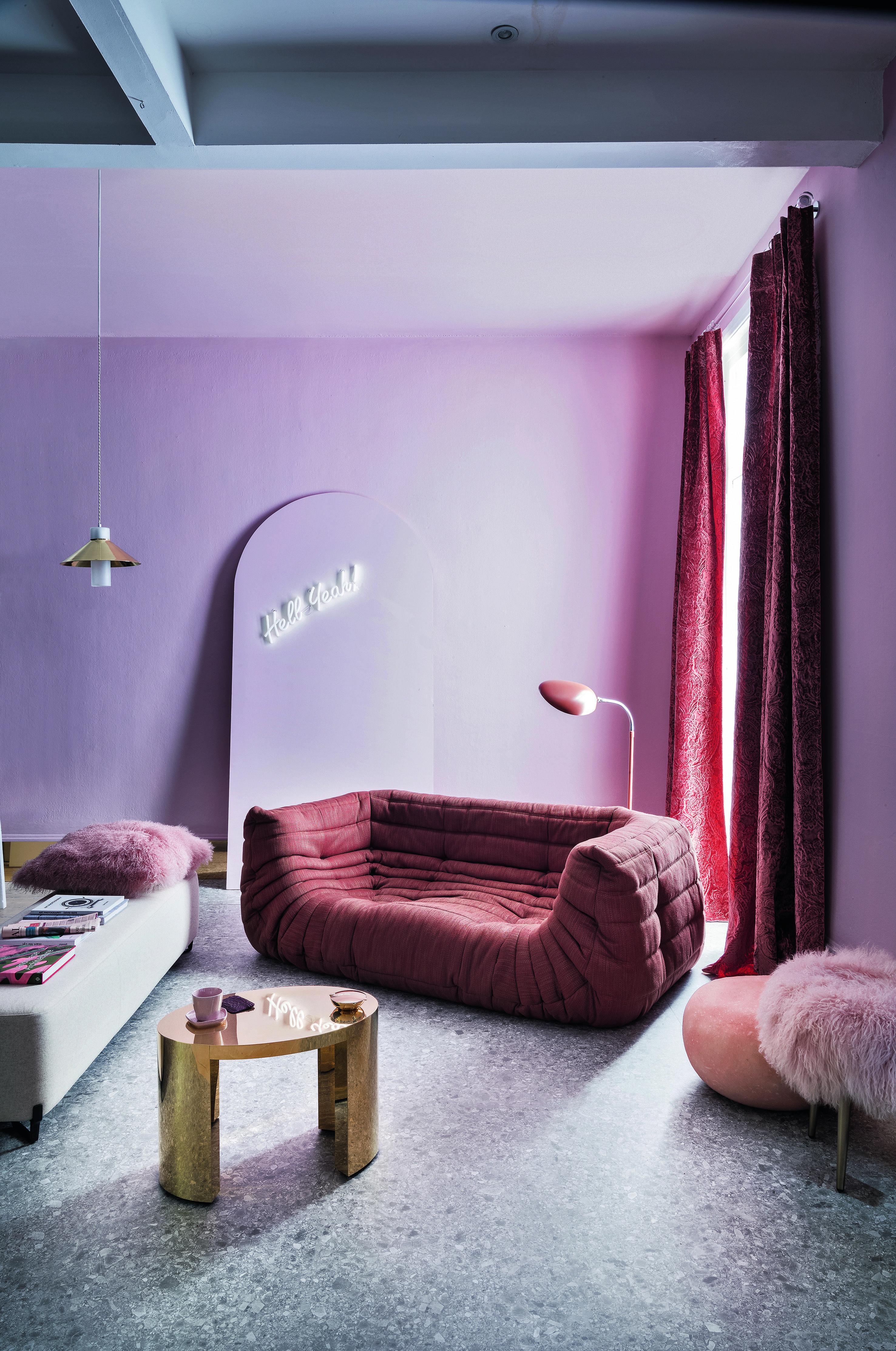 blush home decor ideas eclectic interiors home decor. Black Bedroom Furniture Sets. Home Design Ideas