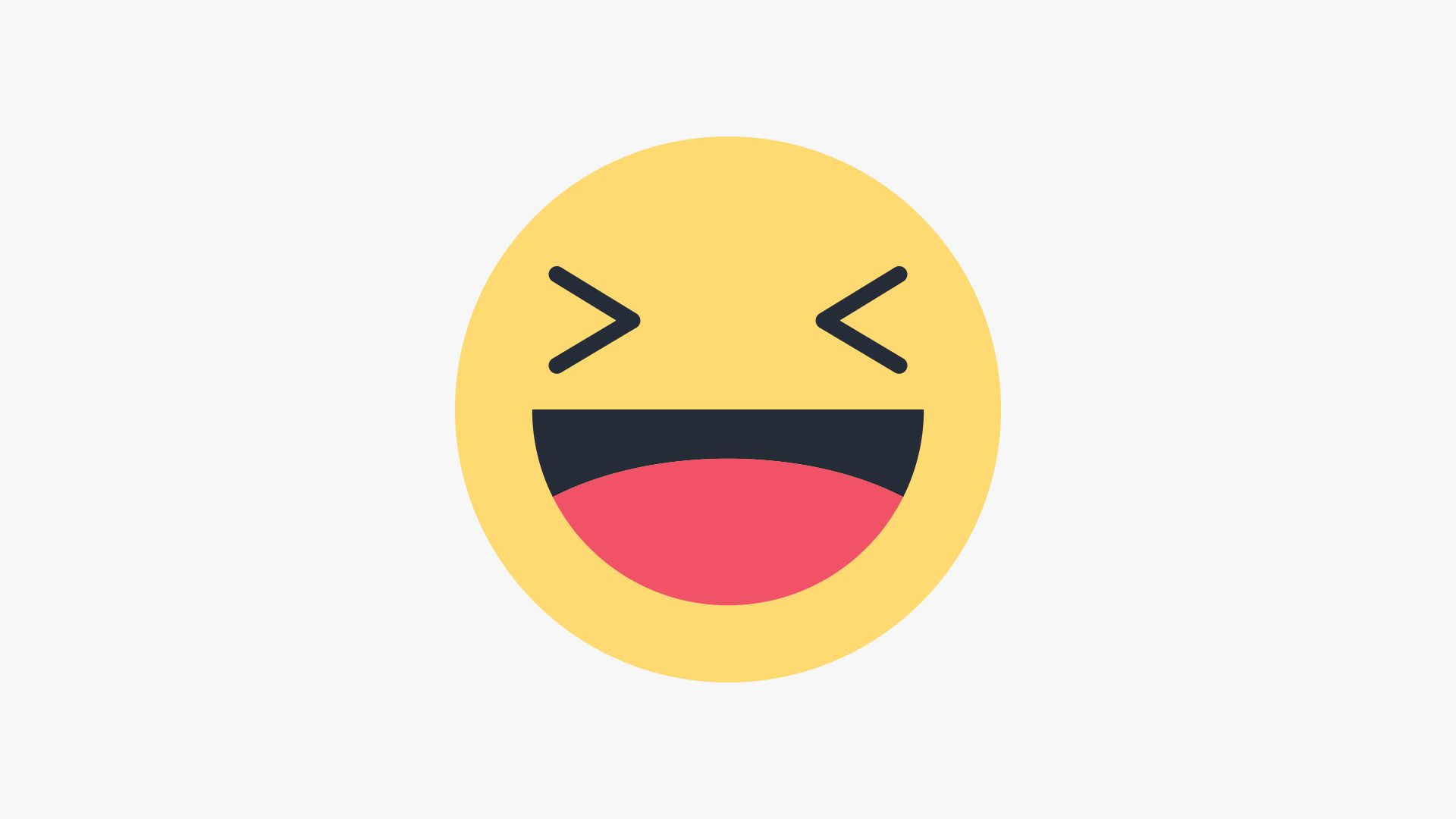 Draw Facebook Haha Emoji In Illustrator ร ปตลก