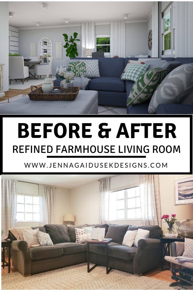 5 Easy Steps To Decorate Your New Home Farm House Living Room