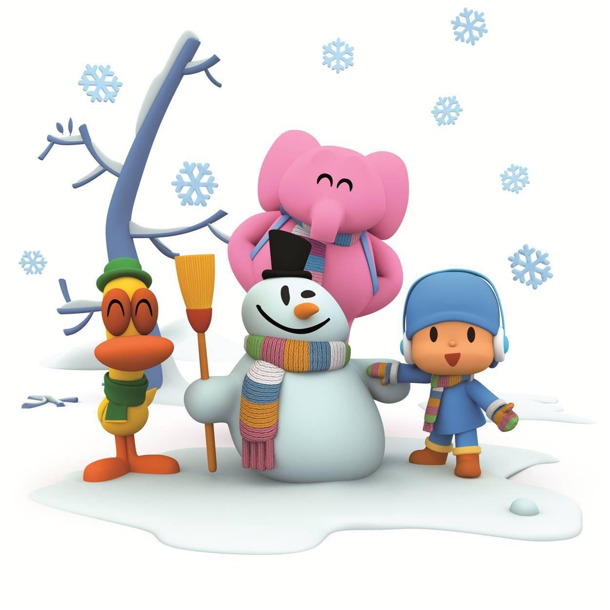 Pocoyo y sus amigos. It´s Christmas. | Stuff to Buy | Pinterest ...