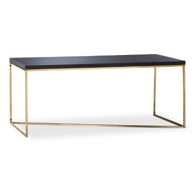 Black Gold Cocktail Table Art 1070er Taylor Llorente Furniture