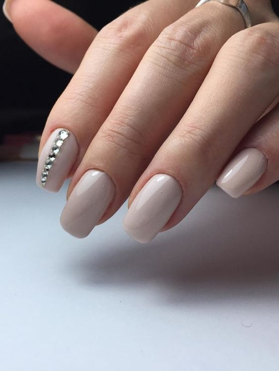 38 Very Simple Easy Nail Art Designs To Create At Home Pinterest