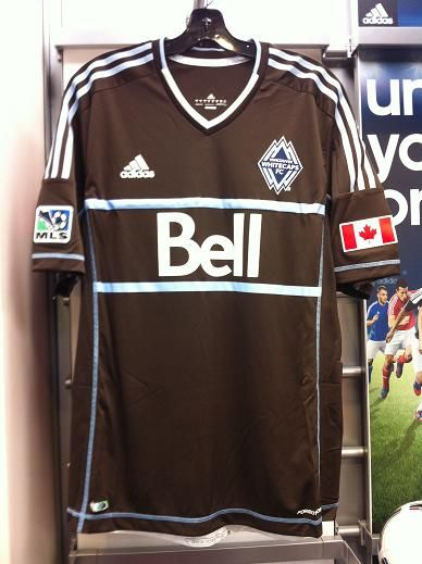 ff4b8d5ac New Vancouver Whitecaps Third Jersey by Adidas for 2012 MLS season now in  store at North America Sports the Soccer Shop in Vancouver BC Canada. Call  with ...