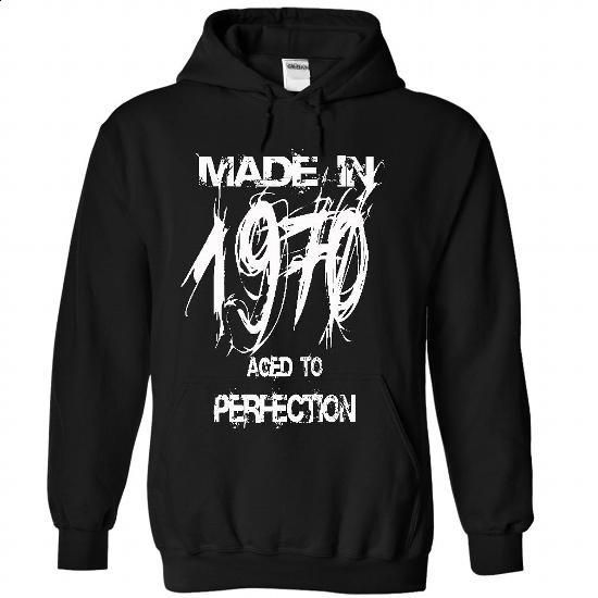 Made in 1970 - Perfection year-ndh - #slogan tee #sudaderas hoodie. PURCHASE NOW => https://www.sunfrog.com/Birth-Years/Made-in-1970--Perfection-year-ndh-9927-Black-29532875-Hoodie.html?68278