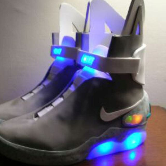dd464f35f247 Nike and Michael J. Fox release 1500 pairs of the Nike Mag Shoes from Back  To The Future 2! Bidding on EBay and all proceeds go to Parkinson s  research.