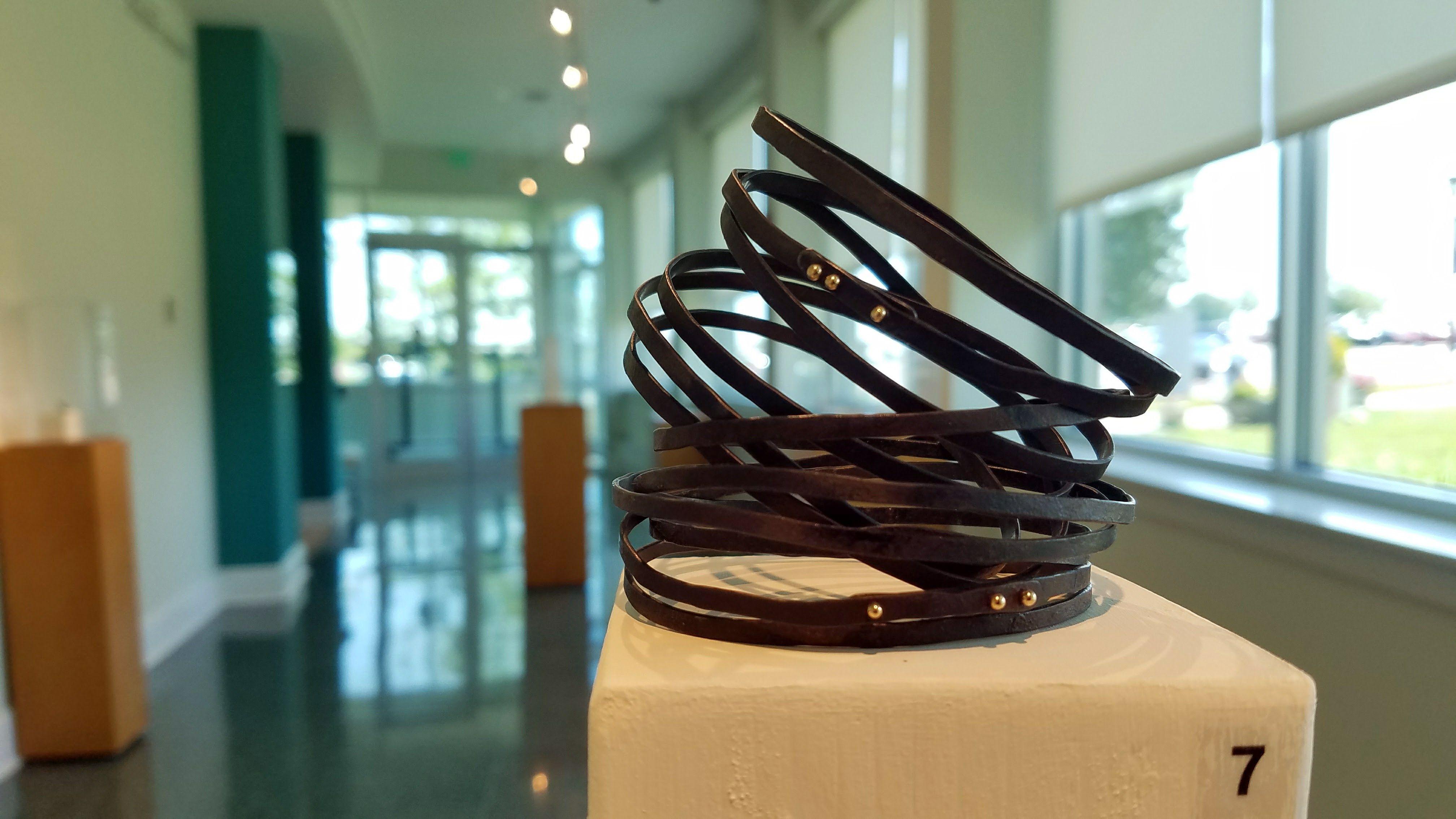 Peg Fetter\'s Minimal Frivolities: Mommy Dearest Bracelets steel wire ...
