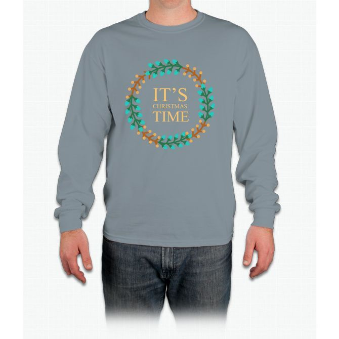 Its Christmas Time Long Sleeve T-Shirt
