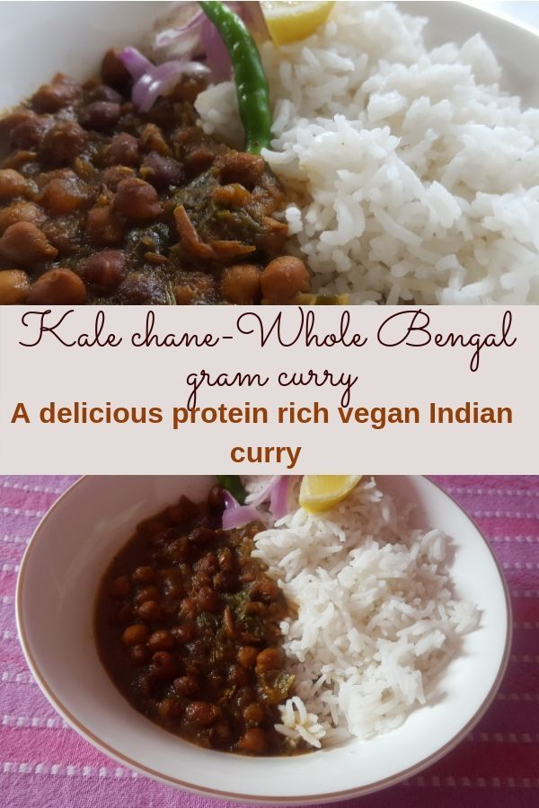 chane ka shorba (Whole bengal gram curry) Kale chane ka shora - Whole Bengal gram curry is a super delicious, protein-rich Indian vegan dish. A perfect dish for Vegans who are looking for a source of protein in their diet. Kale chane ka shora - Whole Bengal gram curry is a super delicious, protein-rich Indian veg...