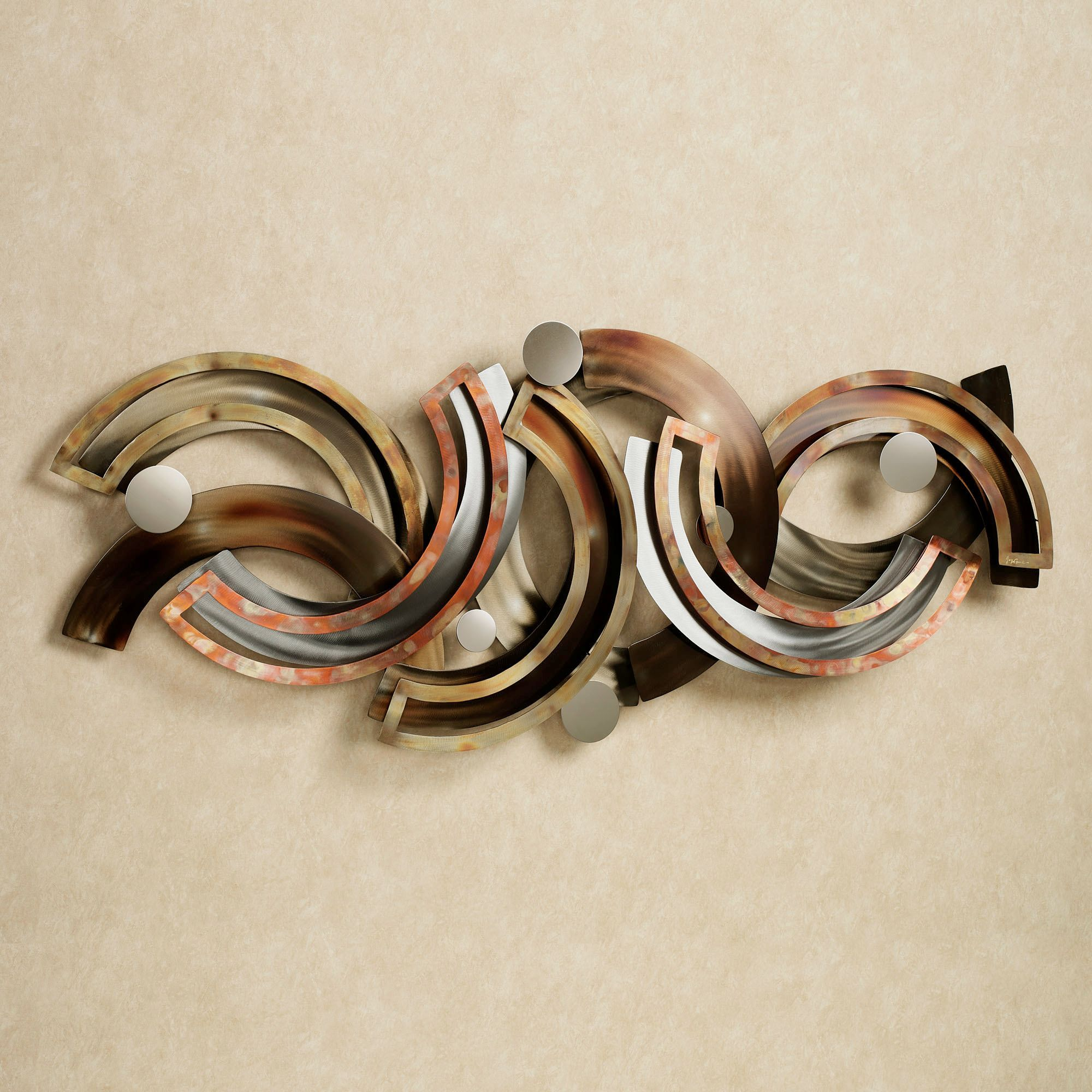 Metal Wall Sculpture Rejoice Abstract Metal Wall Sculpturejasonw Studios  Metal