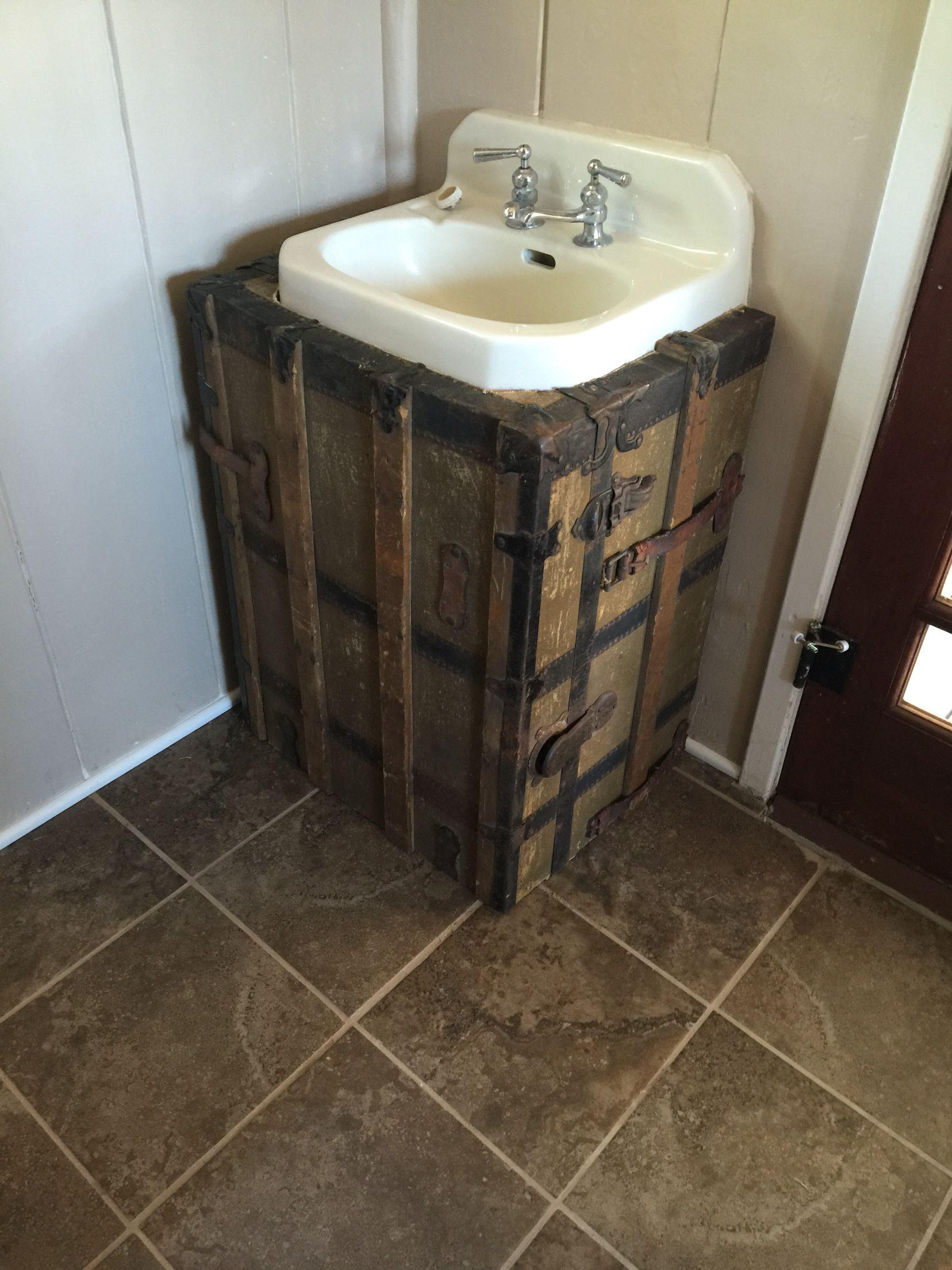 bathroom sink cover