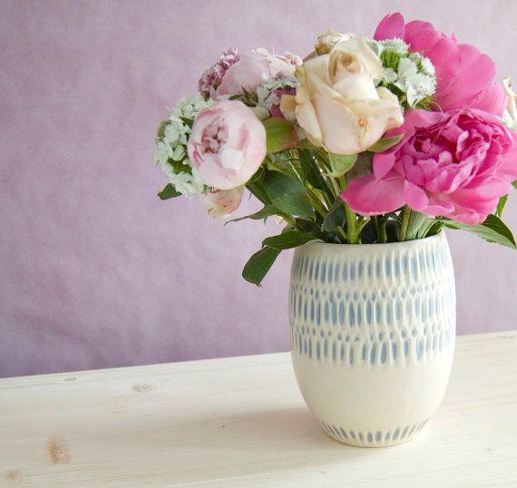 Handmade Ceramic Vase Stoneware Vase Flower Vase Bud Vase