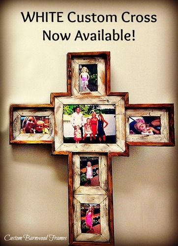 custom barnwood frames large custom cross white 10000 http