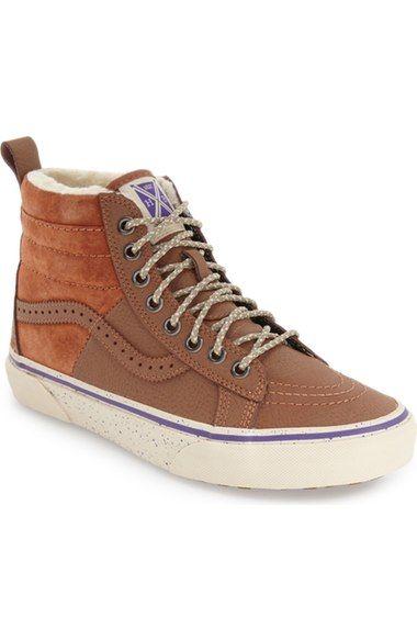 74cf2696041 VANS  Hana Beaman - Sk8-Hi 46 MTE  Waterproof High Top Sneaker (Women).   vans  shoes