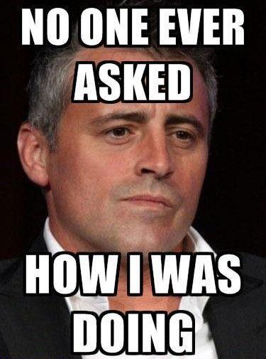 Poor Joey!