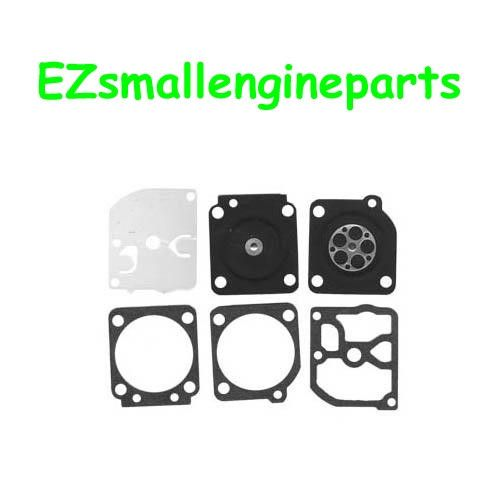 DIAPHRAGM AND GASKET SET Just $8.00 with FREE SHIPPING in our eBay Store! Fits:  HUSQVARNA 40, 45, H40-45, H55-51, 240, 245 chain saws, Zama C1Q-EL1; C1Q-EL5, A; C1Q-EL6, C1Q-EL7, C1Q-EL10, C1Q-S43, A-B; C1Q-S57, A; C1Q-M43 and C1Q-M44 Replaces: ZAMA GND-33, GND33, LASR 48154, STENS 615-098, 61509 Not compatible with greater than 10% ethanol fuel ***LIMITED LIFETIME WARRANTY***