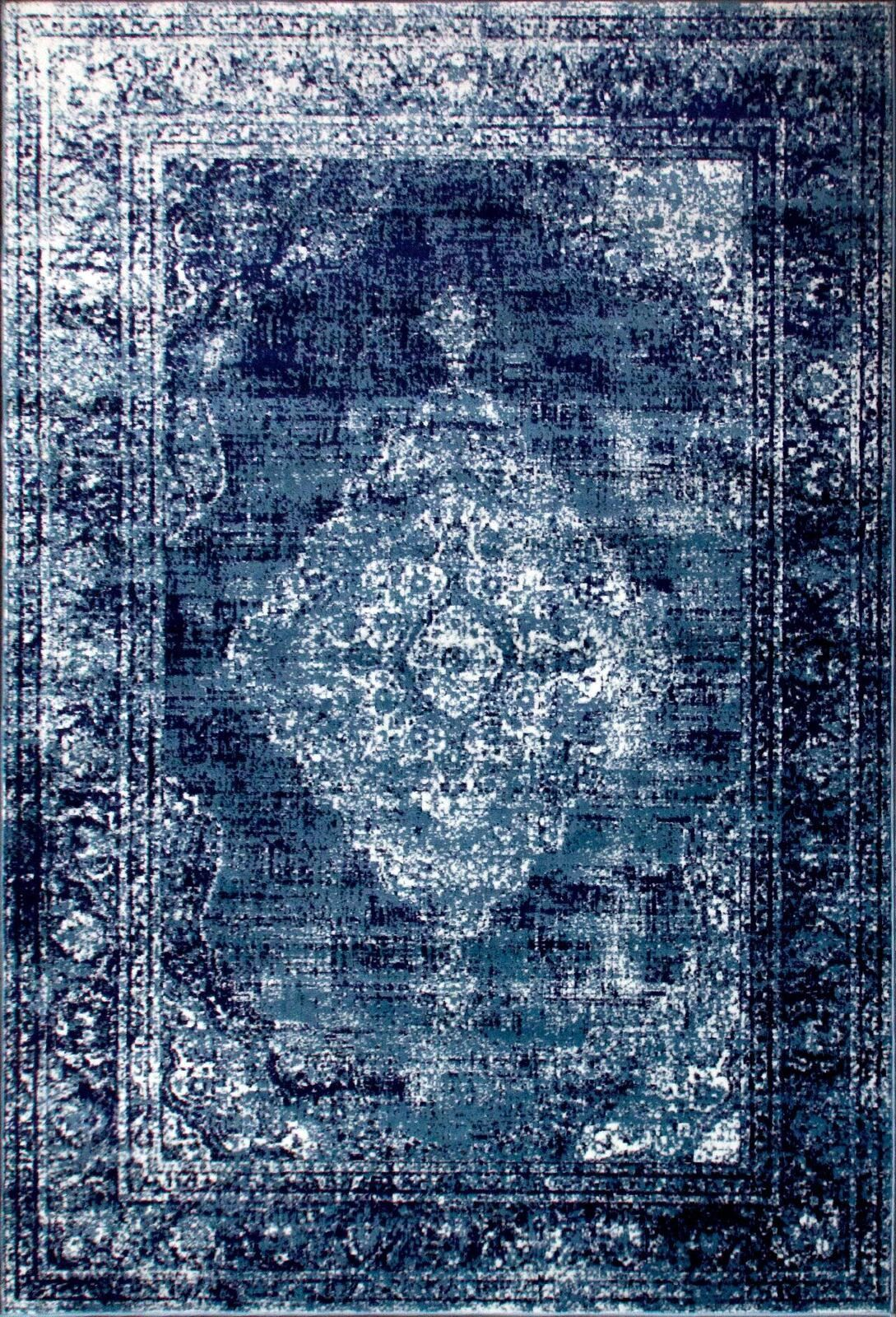 Http Www Ebay Co Uk Itm Traditional Vintage Style Persian Rug Design Oriental Faded Navy Blue Carpet 4014627035 Rugs On Carpet Navy Blue Rug Blue Persian Rug