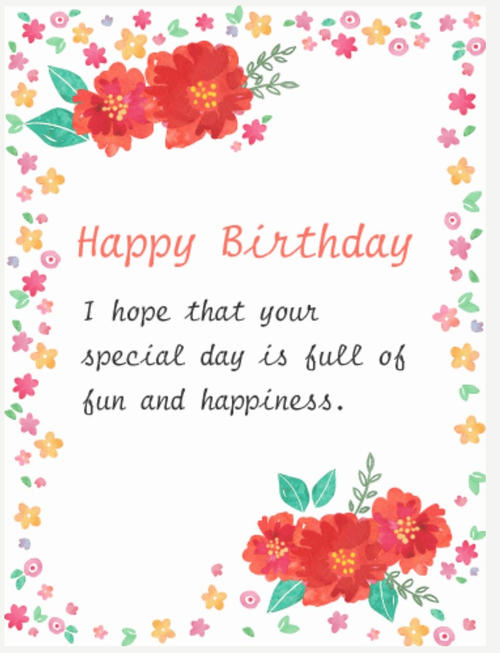Happy Birthday Birthday Cards Cakes Pinterest