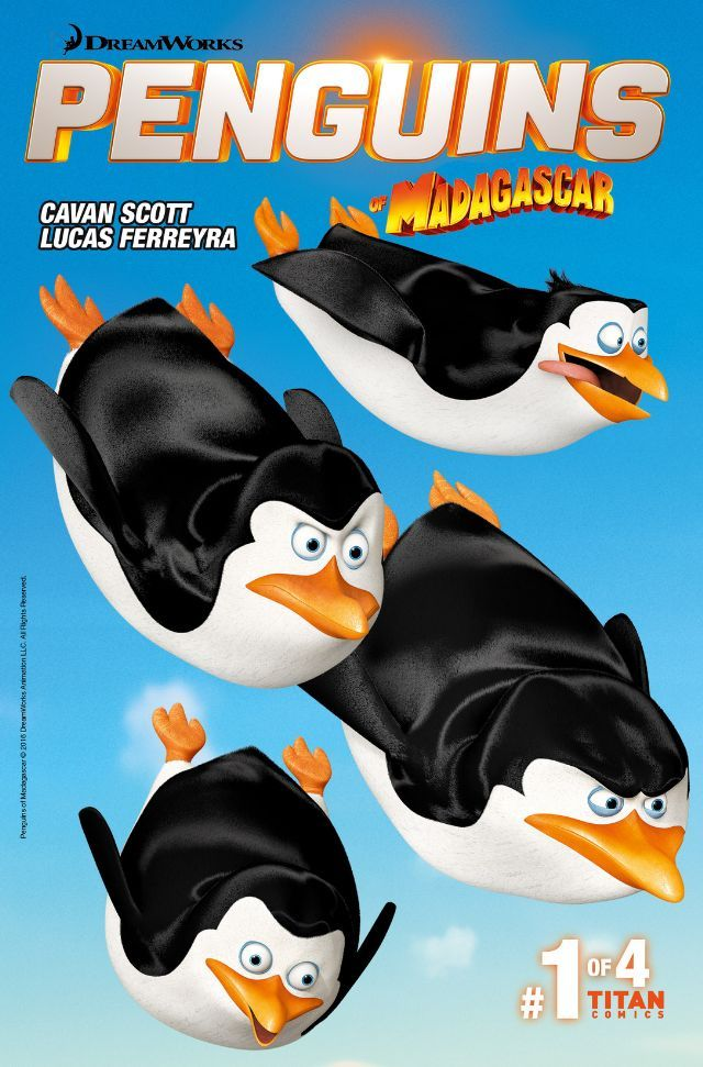 Penguins of Madagascar (2016-) #1 | Titan Comics - General