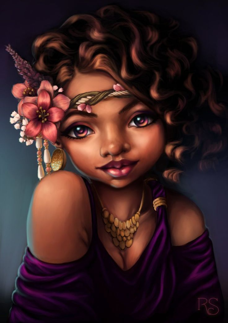 Absolutely stunning black hair art pictures ranging from