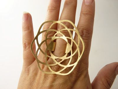 Ring | Caso Kiro Joyas. Bronze (also available in silver and copper)