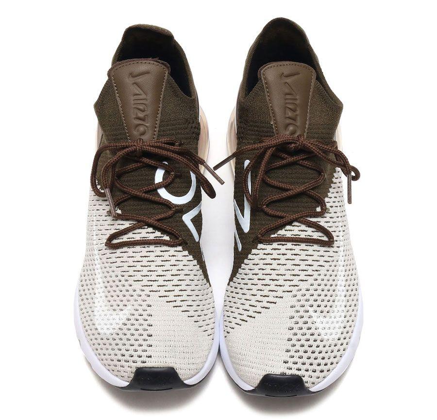 713d7fd4d0273 Nike Air Max 270 Flyknit Dark Hazel AO1023-002