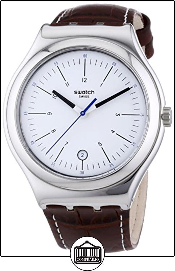 68b7e0eb3754 Swatch Irony Big Classic Appia - Reloj Analógico de Cuarzo para Hombre
