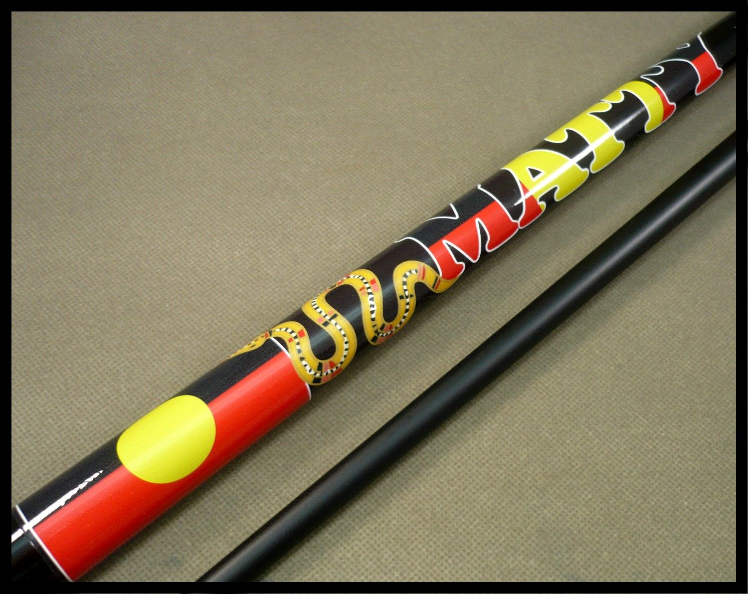 Another aboriginal cue Wed done this design before for Blocker