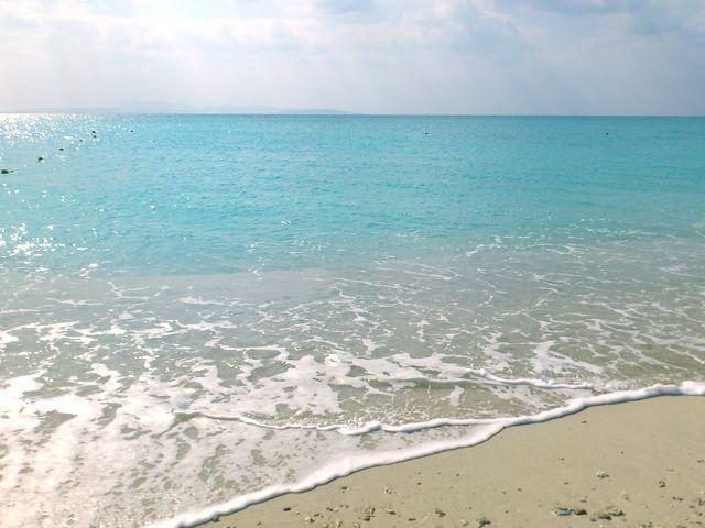 海の透明度も高い
