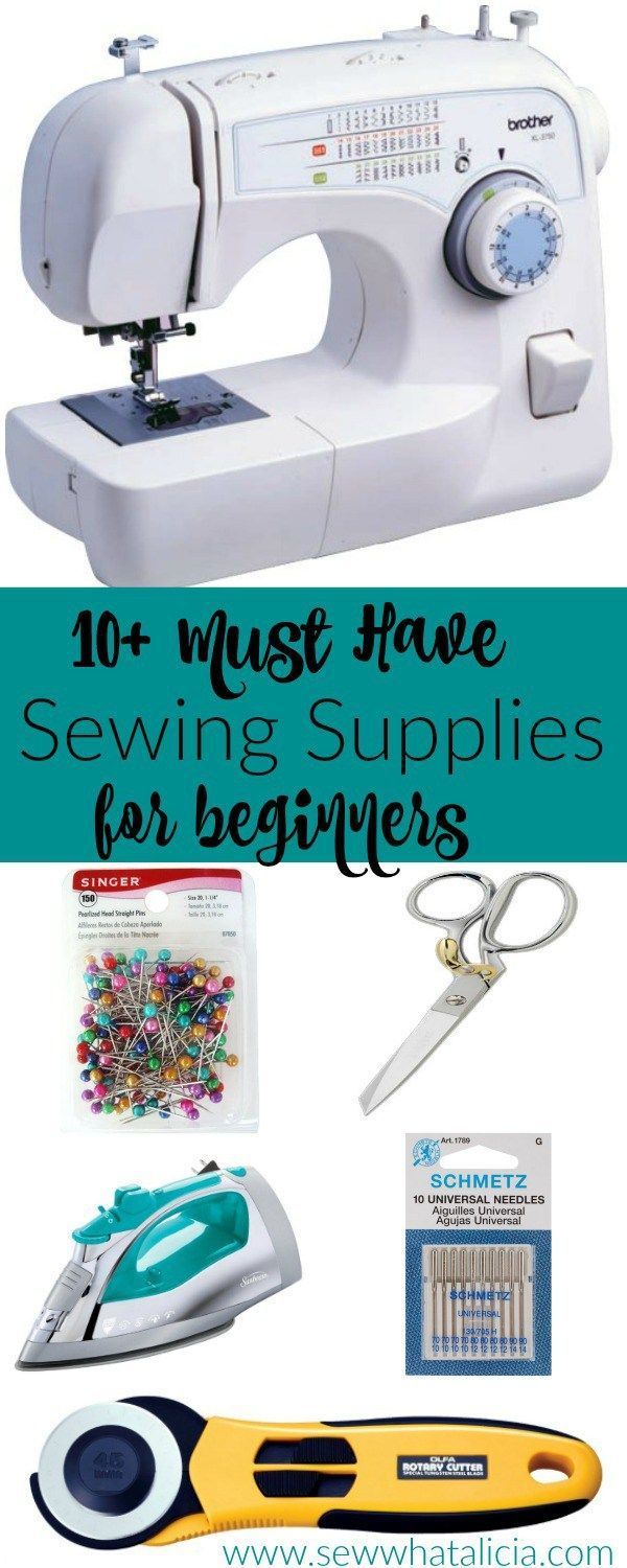 10+ Must Have Beginner Sewing Supplies | Sewing projects, Sewing ... : must have quilting supplies - Adamdwight.com