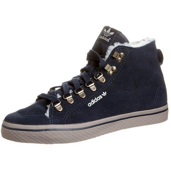 adidas Originals HONEY Hightop trainers ($93) ❤ liked on Polyvore