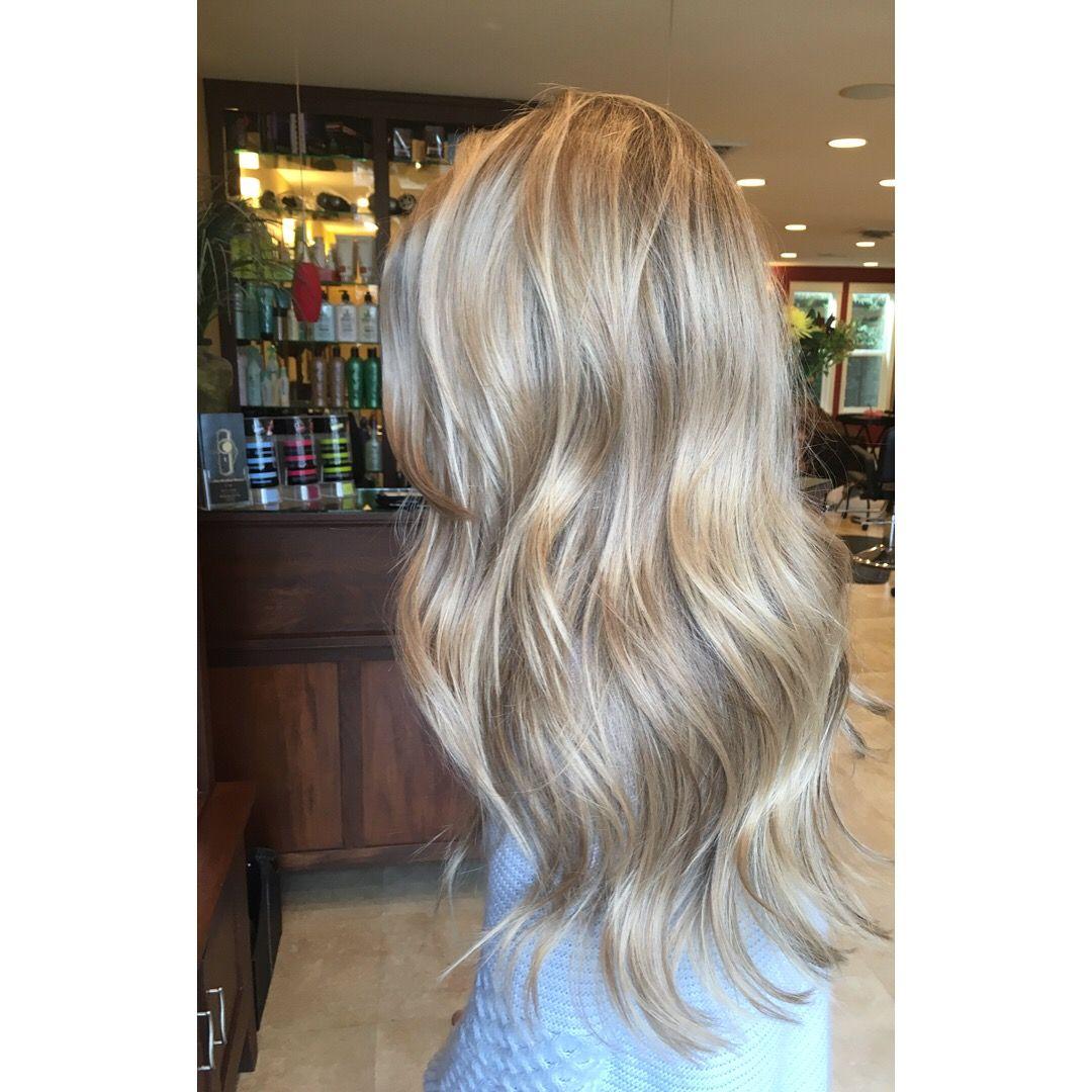 champagne blonde #cdhair hair