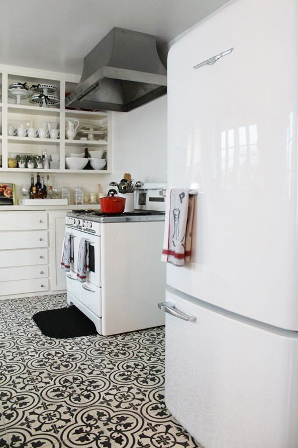 Loving Patterned Cement Tile | Cement, Kitchens and Laundry rooms