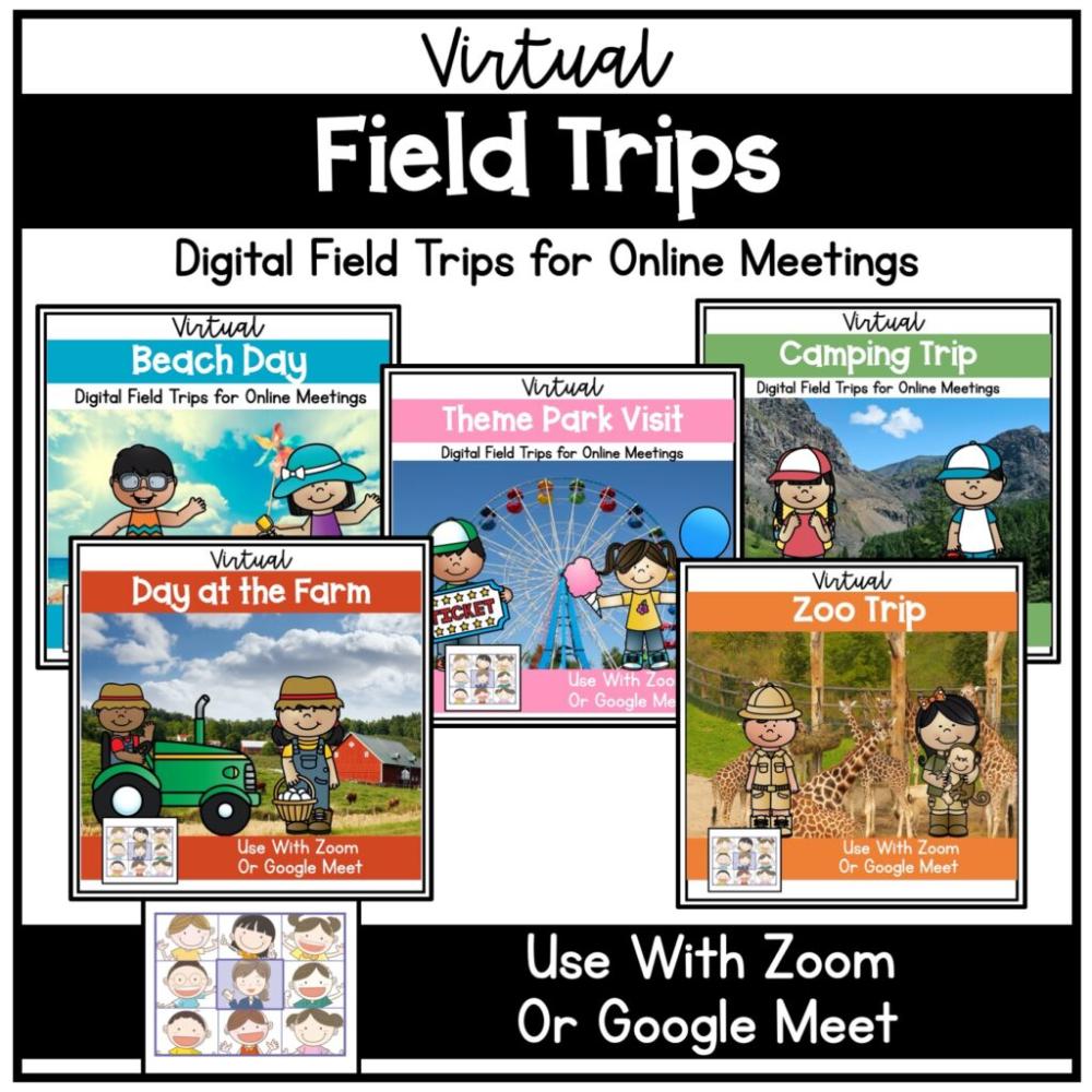 Photo of Zoom Meeting Activities For Distance Learning in Kindergarten