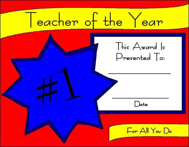 Printable Certificates for Teachers Printable certificates - certificates of appreciation