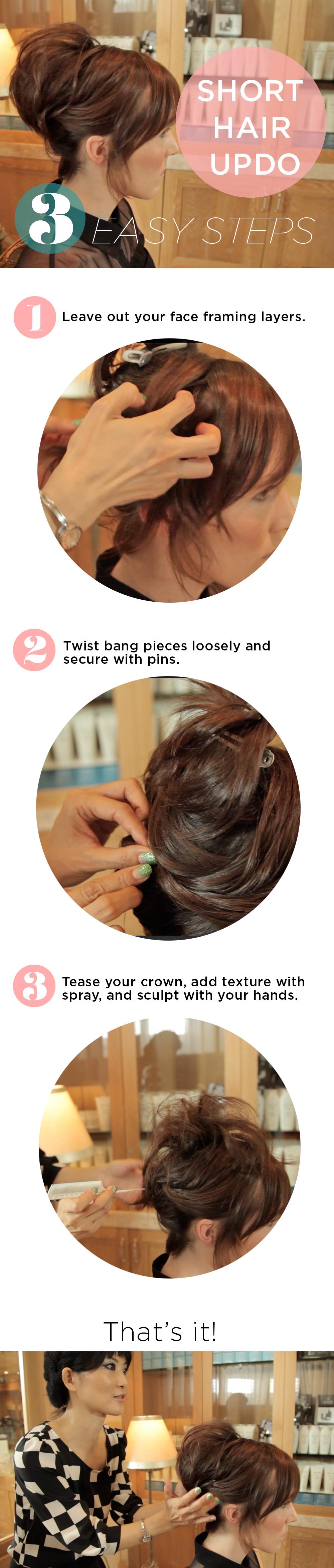 Celeb Hair Stylist Mika Fowler on Short Hair Up-Dos | ModaMob