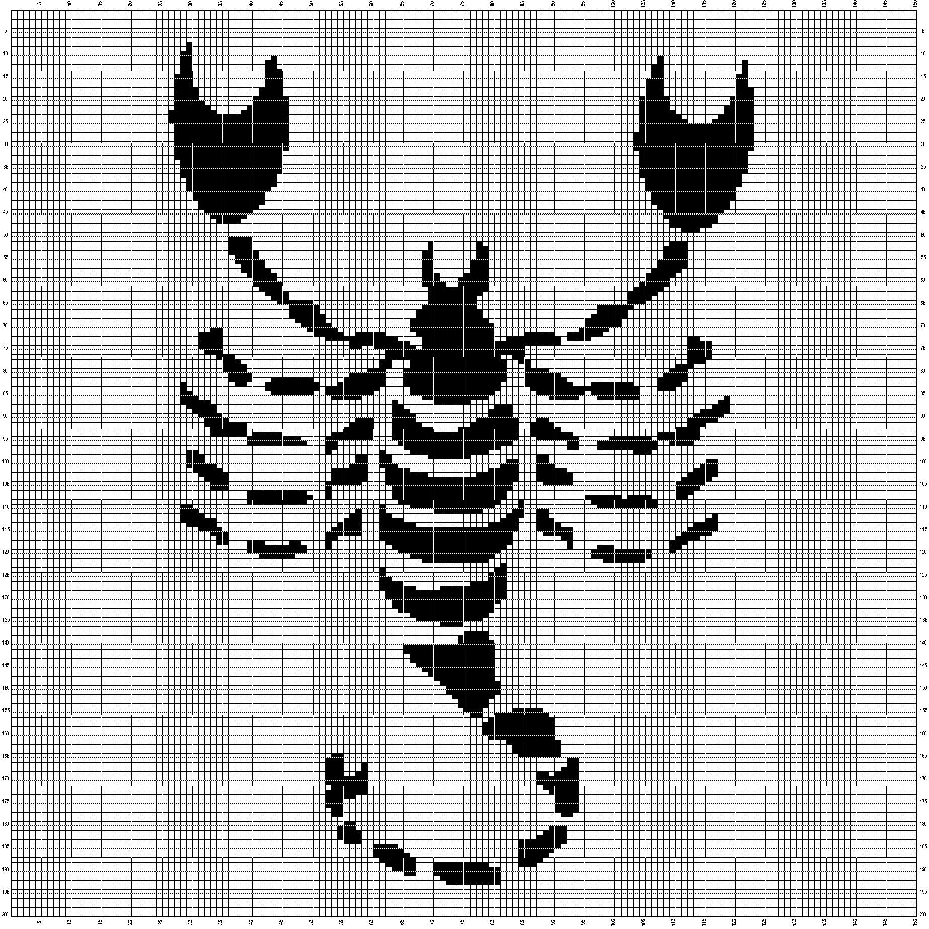 Skorpion 150x200 Szydełkiem Cross Stitch Zodiac Und Stitch