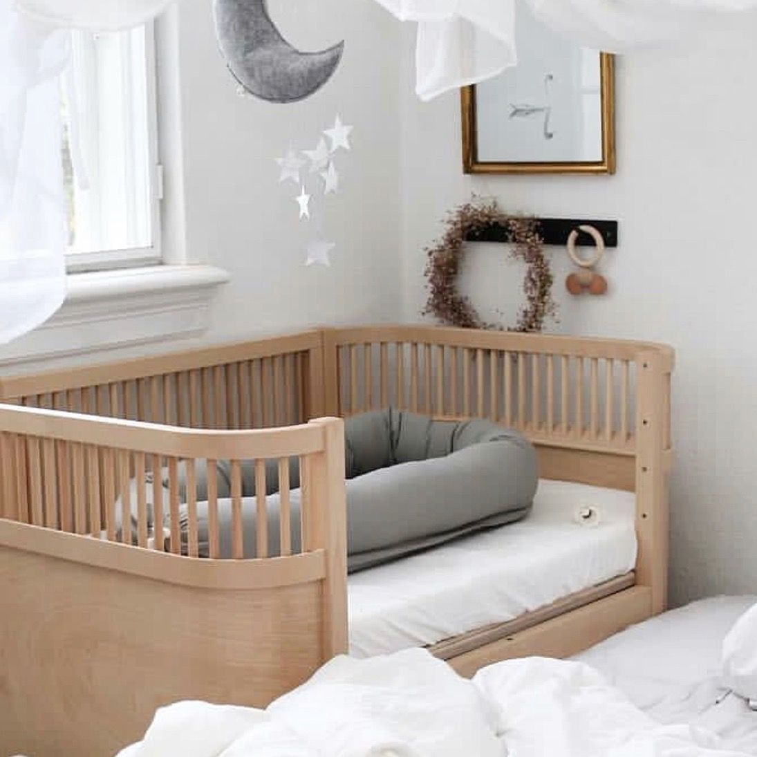 Photo of Sebra Babybett