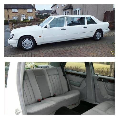 1995 Mercedes Benz E300 (W124) Stretch Limousine