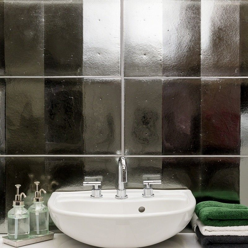 Requiem Platinum 3d 12x24 Glass Wall Tile Glass Wall Glass Tile Glass Tile Backsplash Bathroom