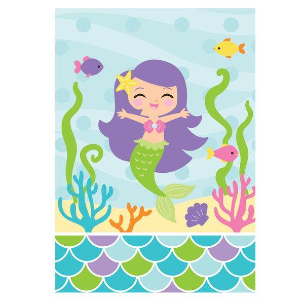 Mermaid Friends Loot Bags/Case of 96
