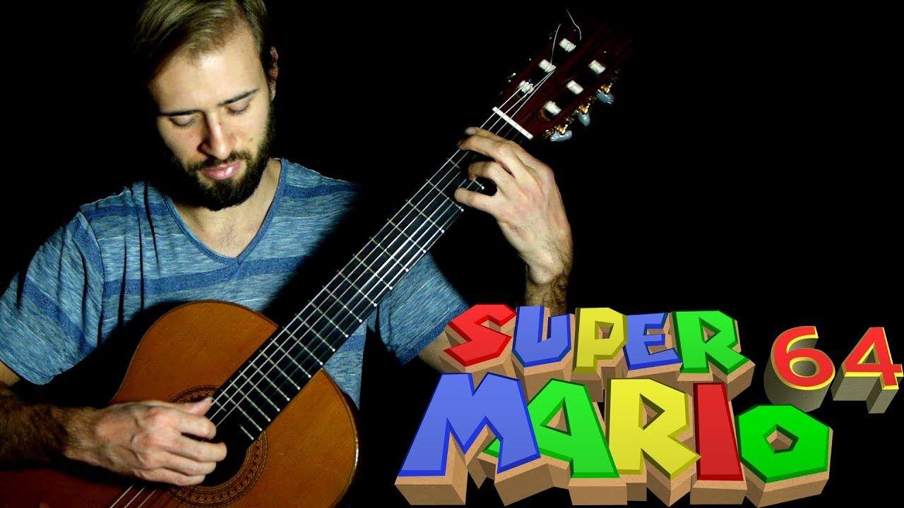 Super Mario 64 Guitar Cover - Peach's Castle ( Inside the