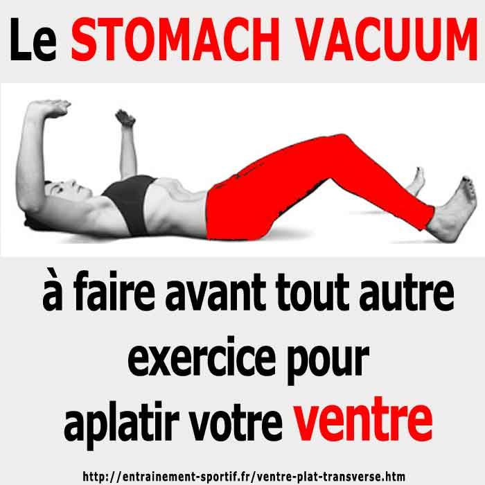le stomach vacuum est un exercice essentiel pour bien muscler les transverses fitness et. Black Bedroom Furniture Sets. Home Design Ideas