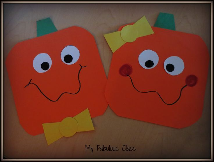 FREE Craft for Spookley the Square Pumpkin (Halloween Crafts For Kindergarteners)