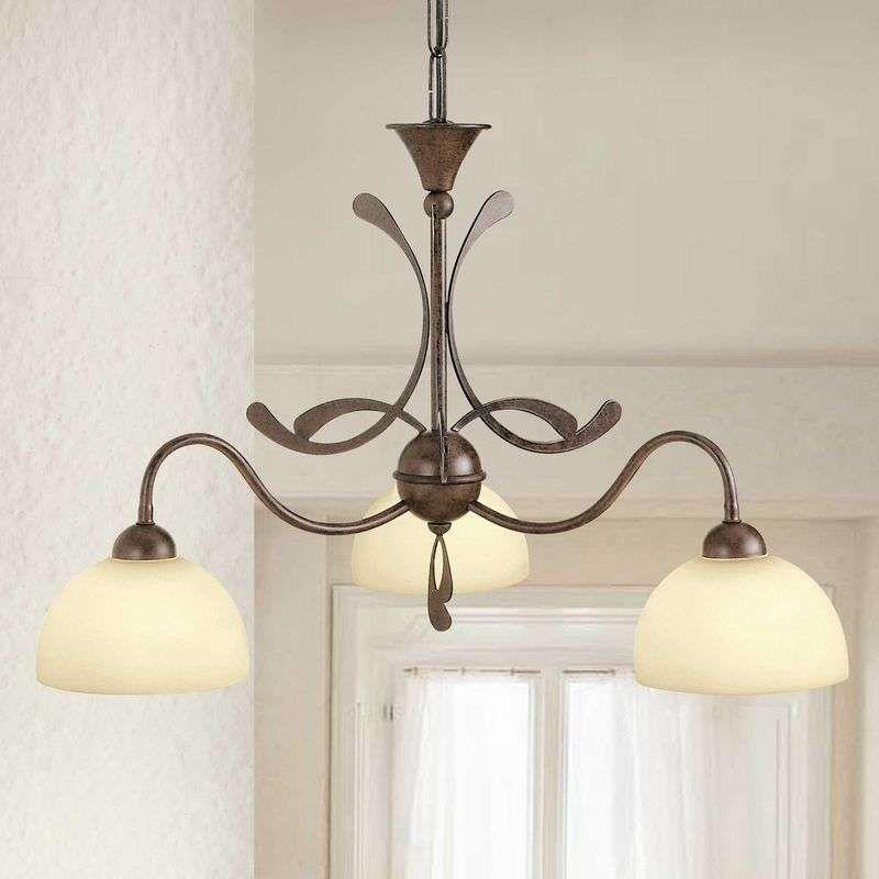 Meerlichts Hanglamp Lorenzo 3 Lichts Hanglamp Vintage Tafellampen Hangende Lichten