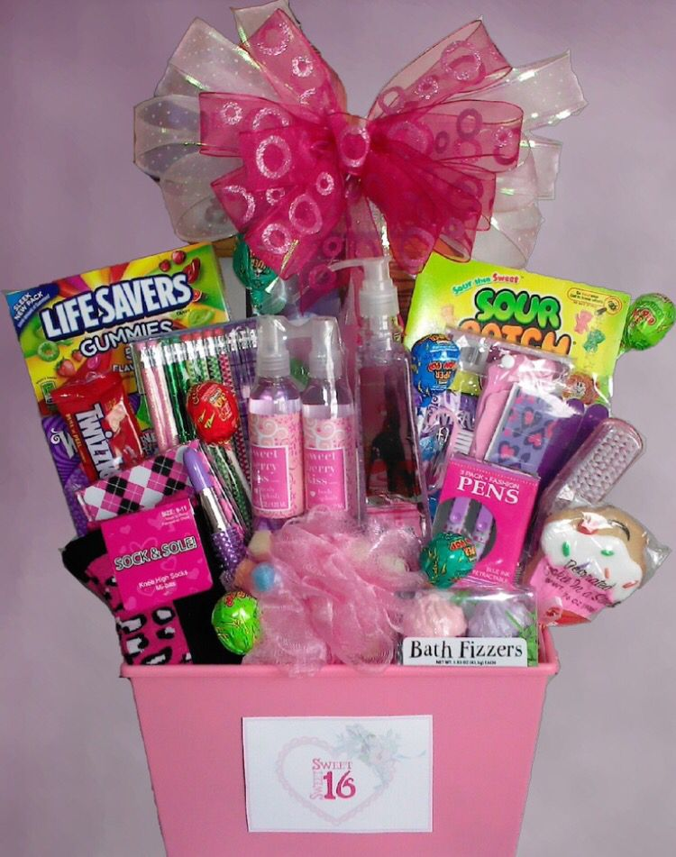 Becoming A Teenager Is Special Time In Girls Life Celebrate With This Awesome Basket