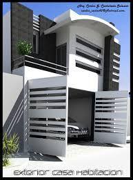 Resultado de imagen para puertas principales de casas for Garajes modernos interiores