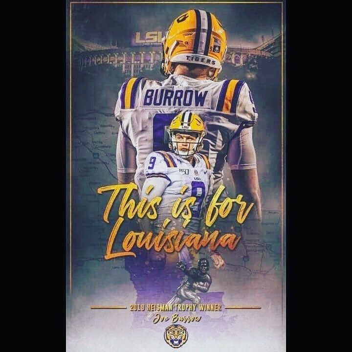 "TIGER FANATICS on Instagram: ""welcome to the BAYOU!! � #geauxtigers #joeburreaux"""