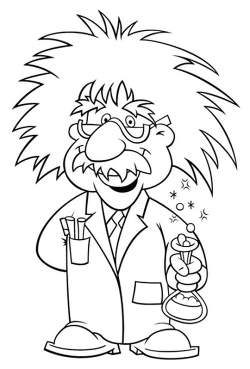 Image Result For Einstein Coloring Page